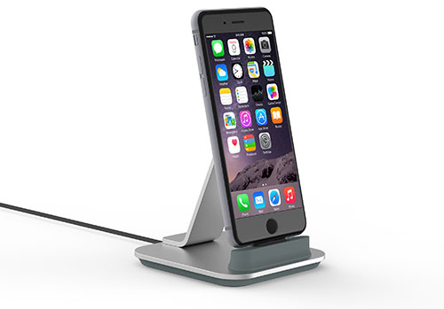 kanex iphone dock neue iphone 6s ladestation aus aluminium iphone. Black Bedroom Furniture Sets. Home Design Ideas