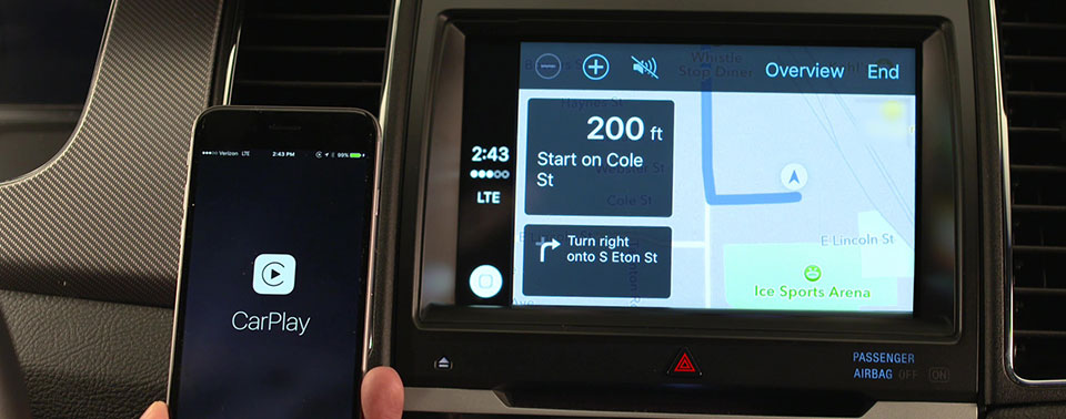ford apple carplay und android auto kommen per update iphone. Black Bedroom Furniture Sets. Home Design Ideas