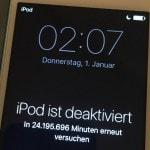 iPod locked