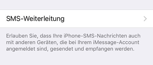 kein sms empfang iphone