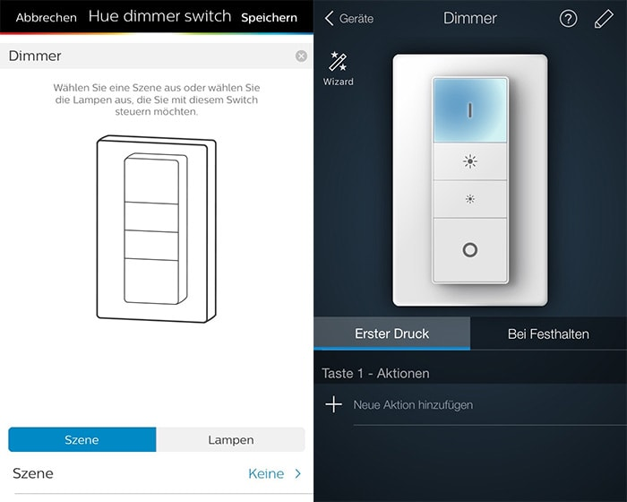 der philips hue dimmer mehr funktionen pro taste sonos. Black Bedroom Furniture Sets. Home Design Ideas