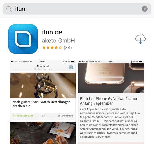 app-store-suche
