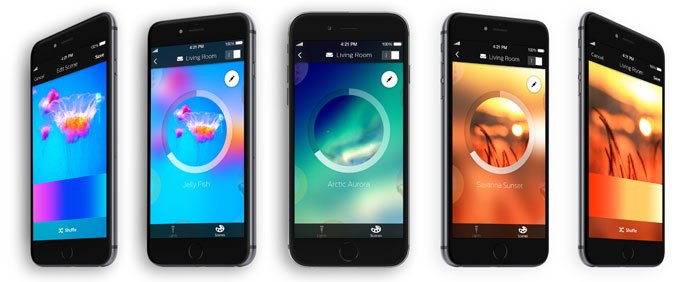 philips neue hue app jetzt verf gbar iphone. Black Bedroom Furniture Sets. Home Design Ideas