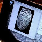 Fingerabdruck Scan Am Mac