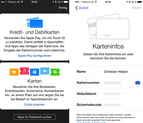 Apple Pay Deutschland