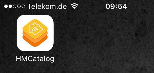 Homekit Catalog App