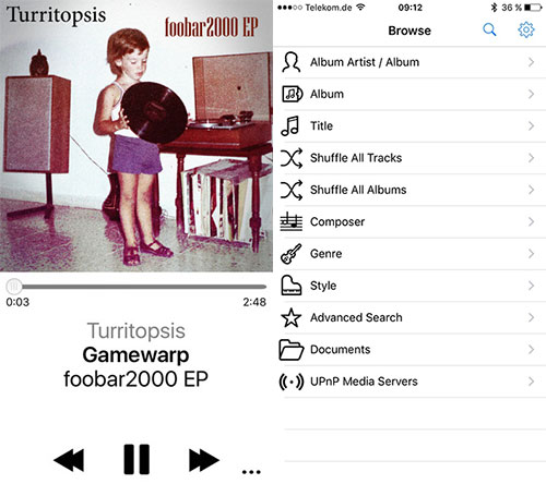 IPhone App Foobar2000