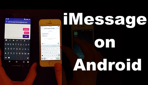 Imessage Auf Android Video