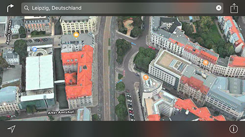 Leipzig 3d Karten Apple