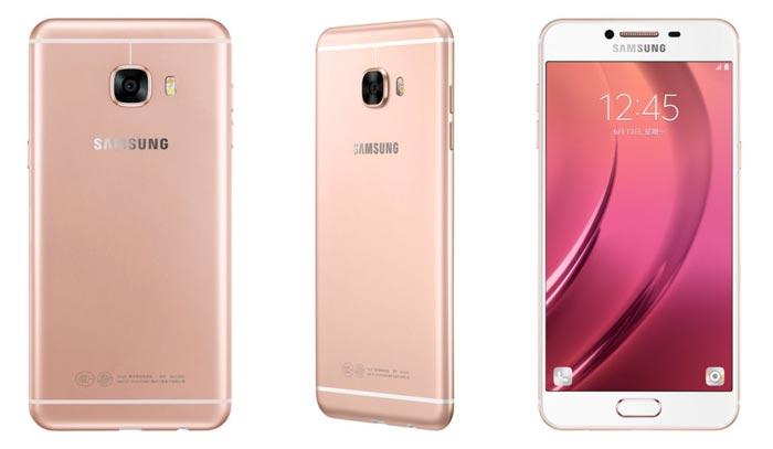 Samsung C5 Ansichten