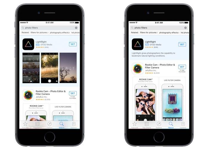 Apple App Store Suche Werbung