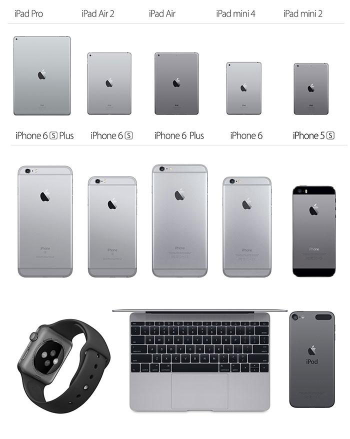 Apple Spacegrau