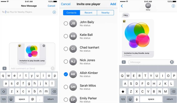 Game Center Einladungen Ios 10
