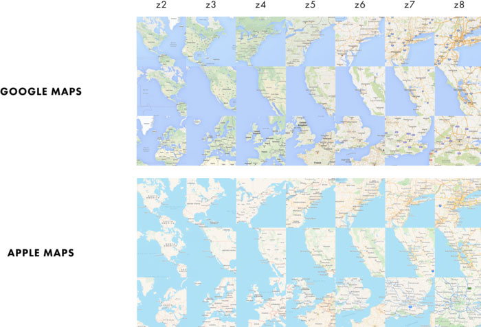 Google Apple Karten