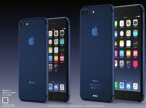 IPhone 7 Blau 500