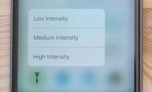 Ios 10 Taschenlampe 3d Touch