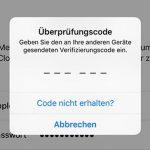 Apple Id Code Abfrage