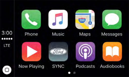 Ford Carplay Sync 3