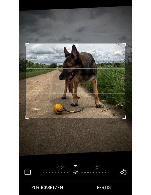 Google Fotos App Beschneiden Funktion