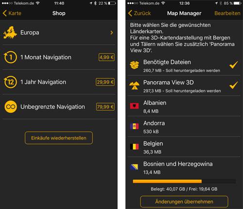 Navigon App Abopreise