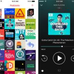 Pocket Casts Screens