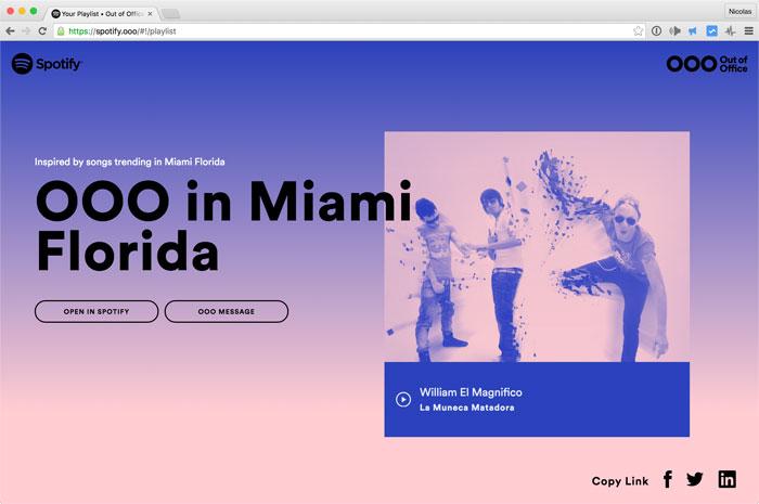 Spotify Ooo Miami