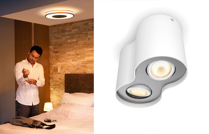 Philips Hue White Ambiance Being Deckenleuchte Lifestyle Pillar