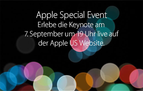 Apple September Event 2016