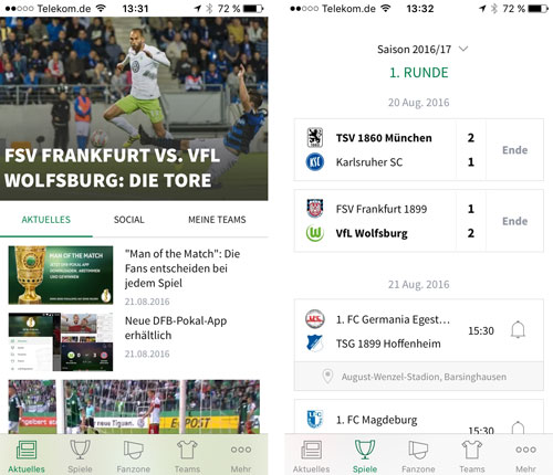 Dfb Pokal App Iphone