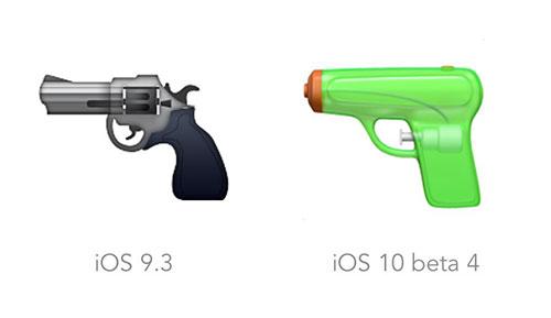 Emoji Pistole