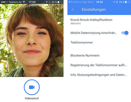 Google Duo Videochat App Iphone