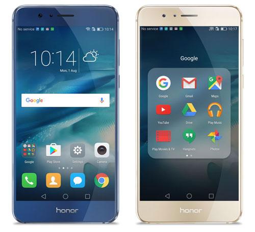 Honor 8 Blau Und Gold
