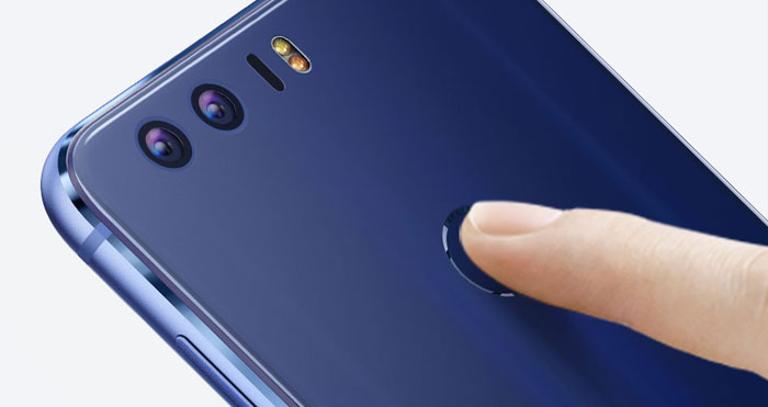 Honor 8 Kamera Fingerabdrucksensor
