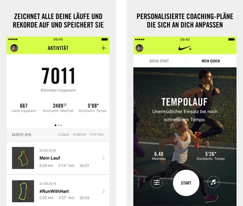 Nike Run Club Iphone App