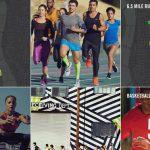 Nike Running Header