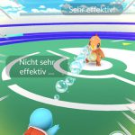 Pokemon Go Arena Kampf