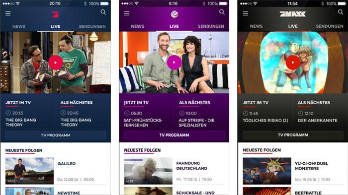 Sat 1 Prosieben Tv App