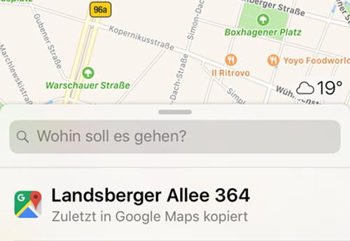 Wohin Maps