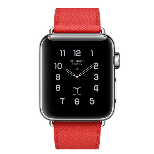 Apple Watch Hermes Rot