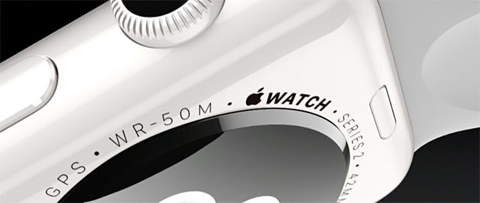 Apple Watch S2 Ceramic Detail