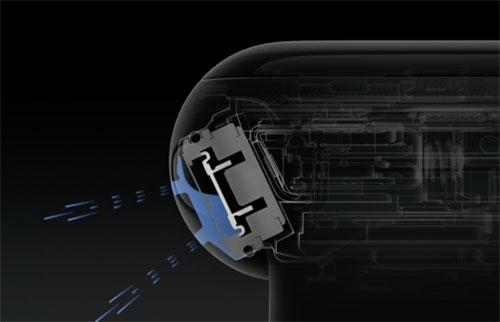 Apple Watch Series 2 Lautsprecher Wasser