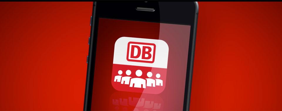 Bahn Mitfahrer App