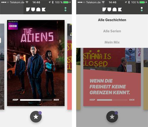 Funk App Ard Zdf Screenshot