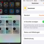 Homekit Favoriten Ios 10 Kontrollzentrum