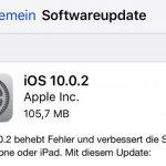 Ios 10 0 2 Update