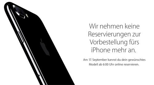 Iphone 7 Vorbestellung Bei Apple