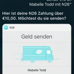 N26 Geld Senden Mit Siri