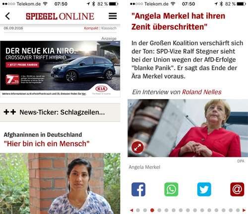 Spiegel Online Iphone App