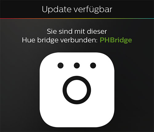 philips hue bridge und app update f r den bewegungsmelder iphone. Black Bedroom Furniture Sets. Home Design Ideas