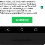 Whatsapp Datenweitergabe Facebook